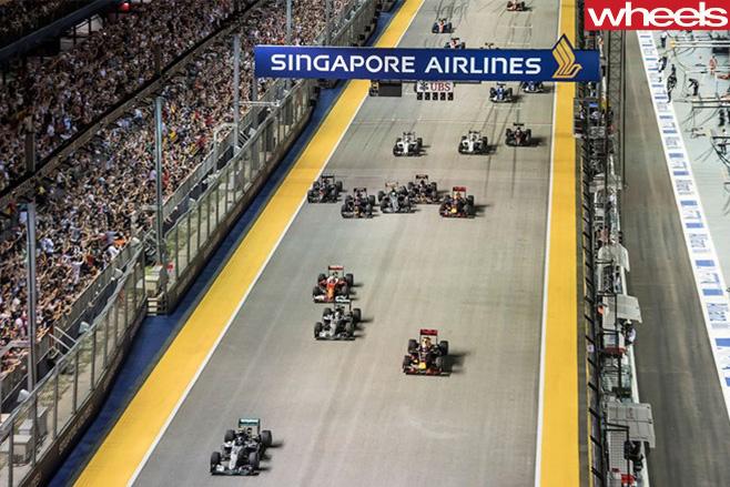 Singapore -GP-2016-start