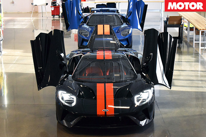 Ford GT's built