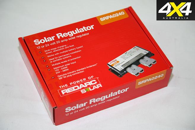 Redarc solar regulator