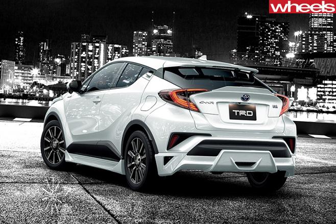 TRD-Toyota -CH-R-SUV-rear -side