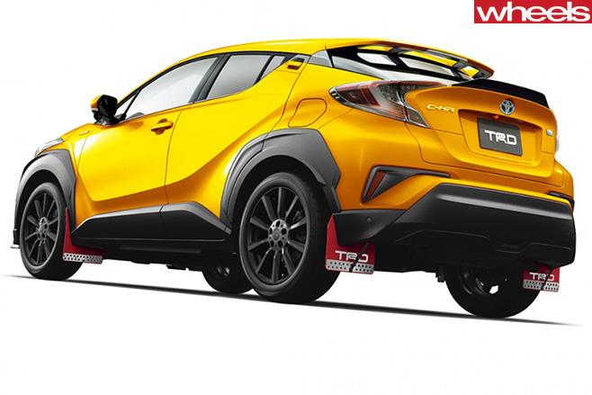 TRD-Toyota -CH-R-SUV-rear