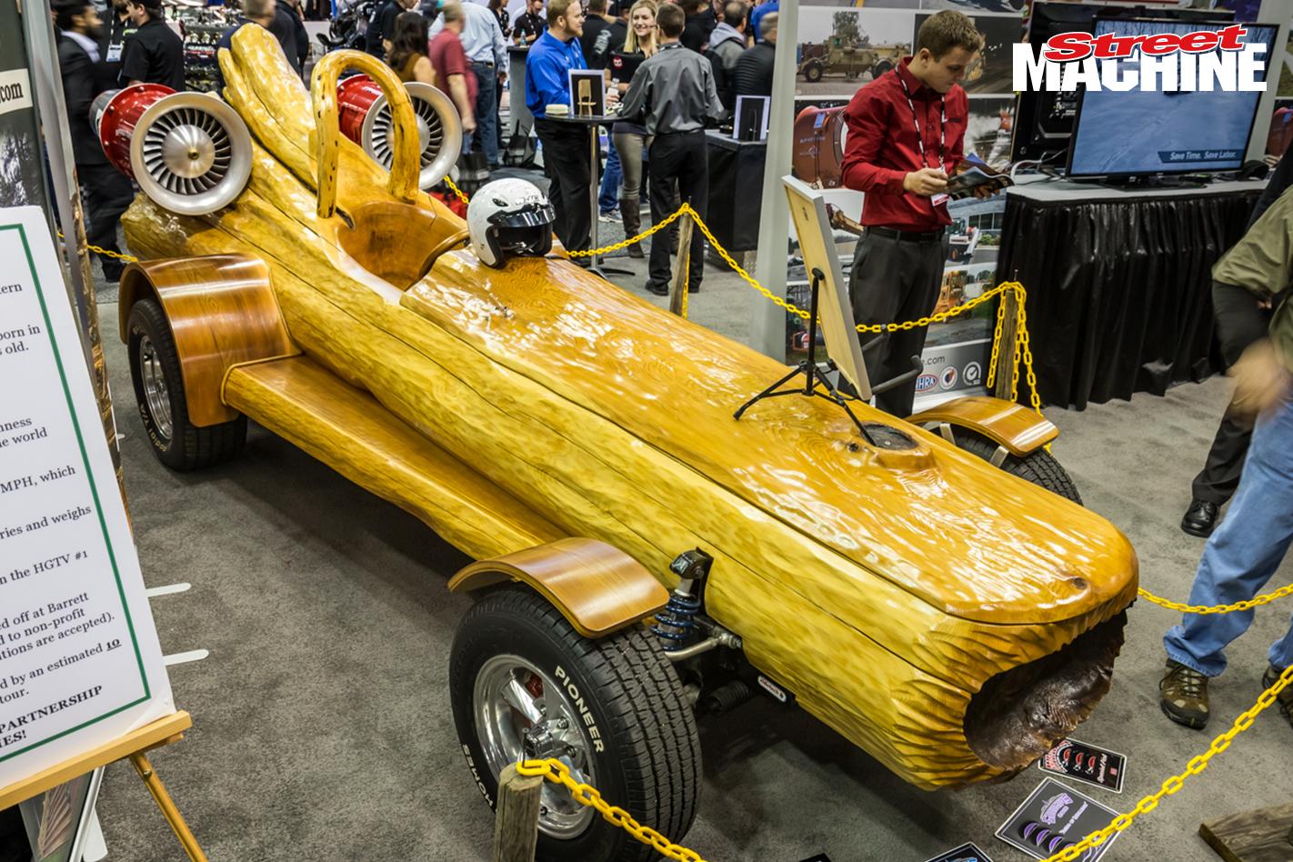 Wooden Jet Car 6053