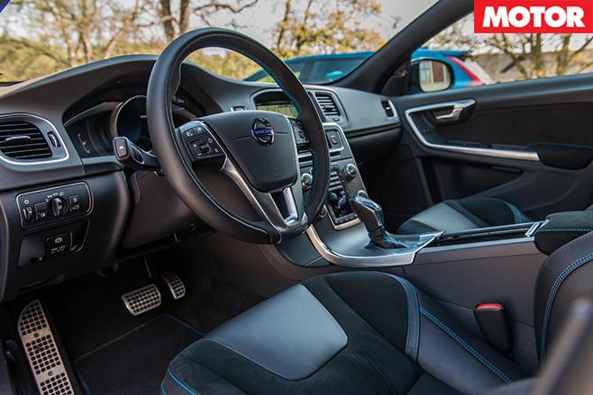 Volvo S60 Polestar interior