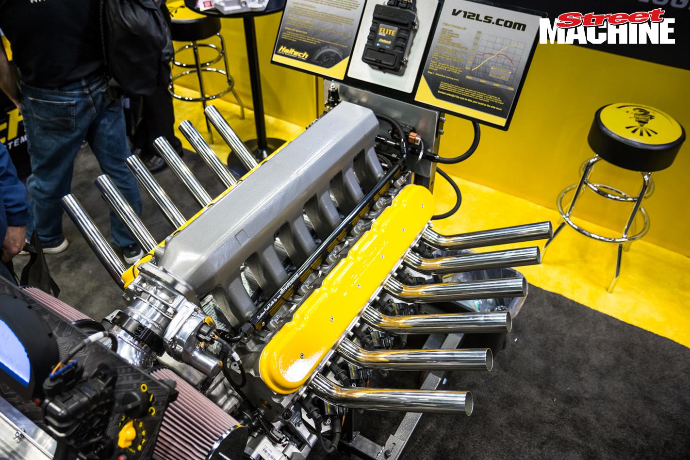 V12 LS Engine 6440