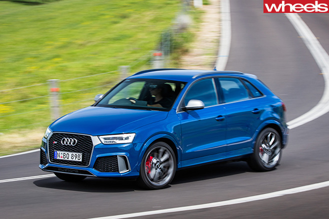 Audi -RSQ3-front -side