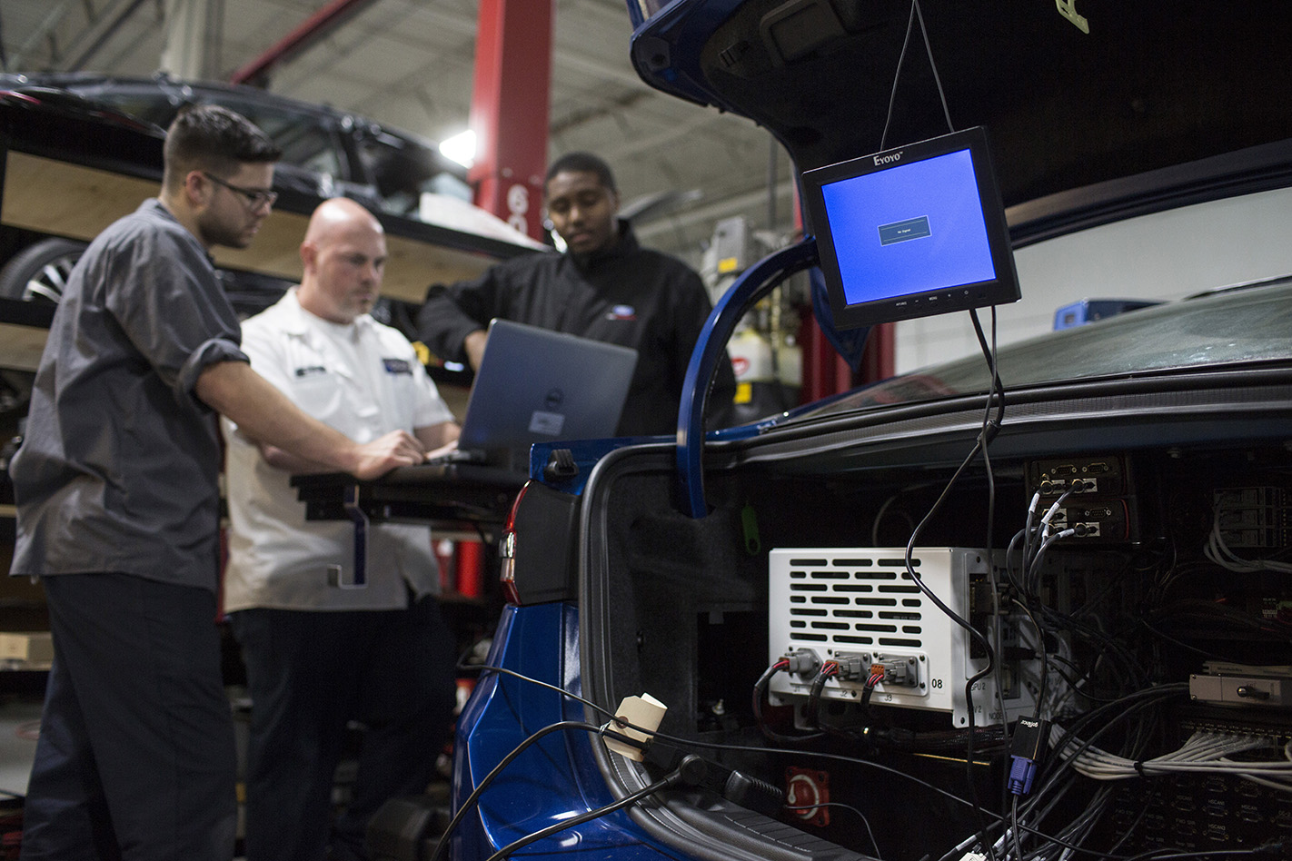 Ford -Fusion -autonomous -boot