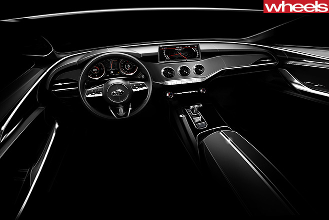 Kia -Stringer -interior