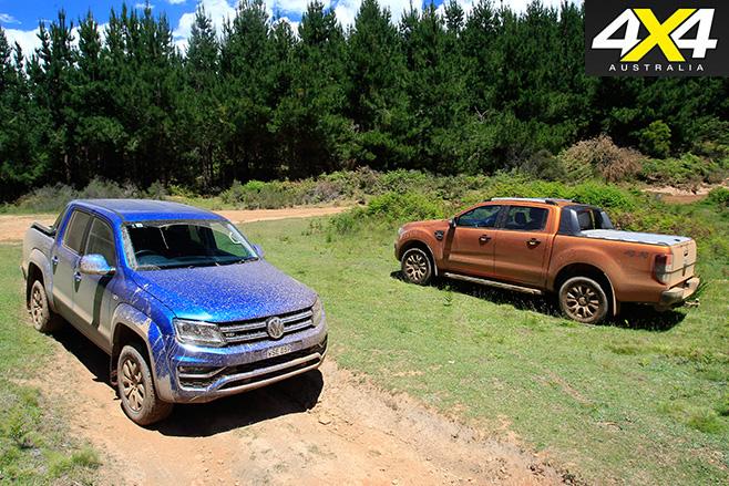Volkswagen Amarok vs Ford Ranger