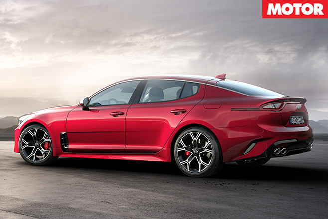 Kia Stinger rear