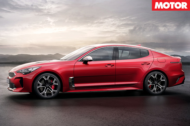 Kia Stinger side