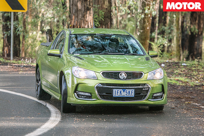 Holden Commodore SS-V Redline front