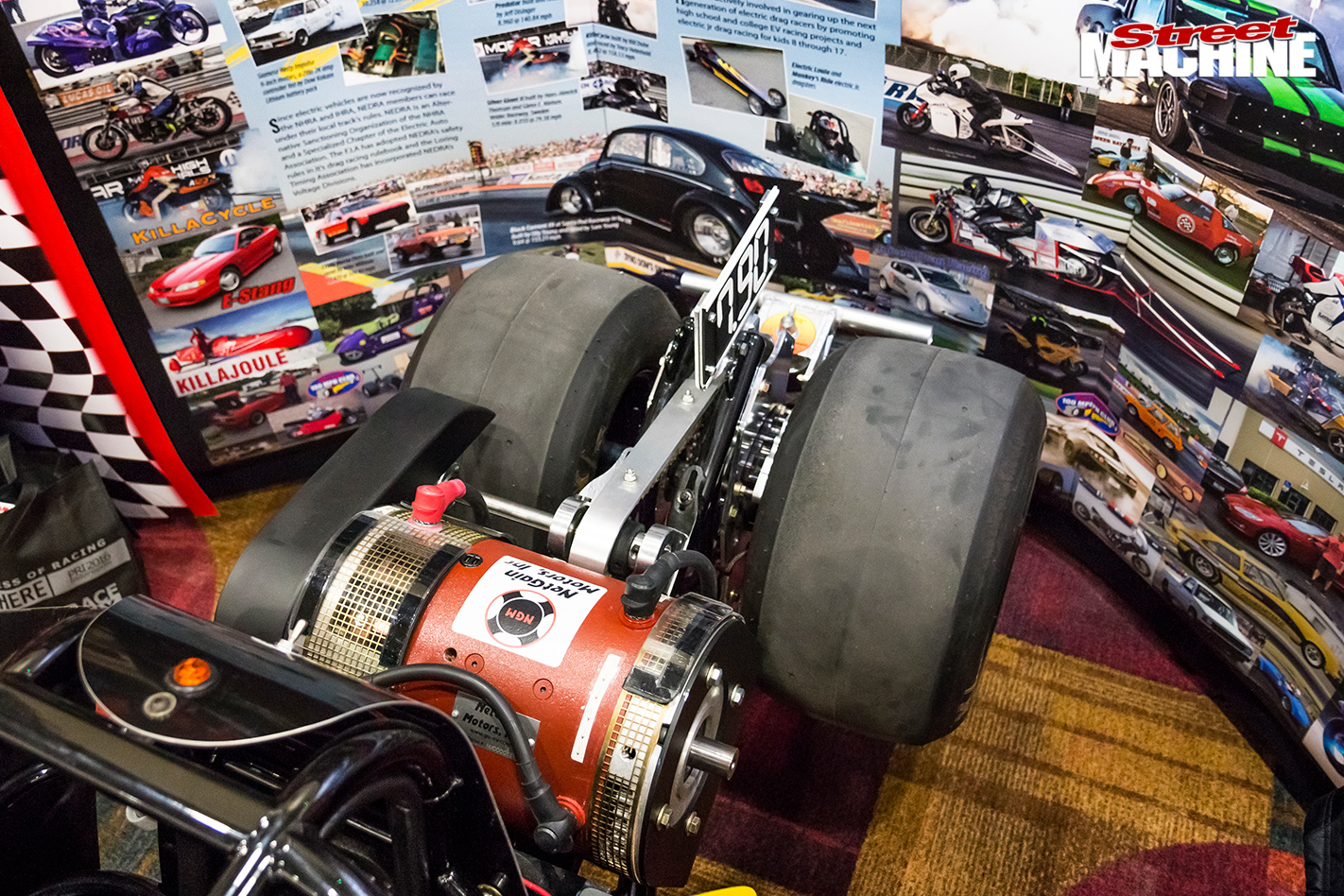 6450-pri -show -nedra -electric -dragster