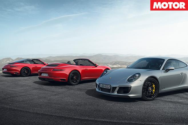 Porsche 911 GTS group