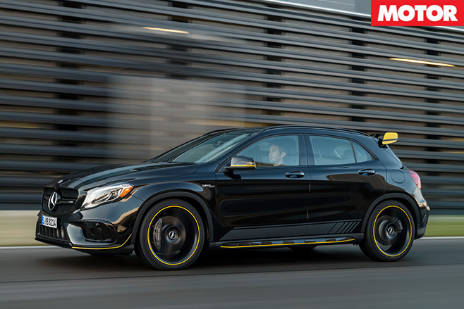 2017 Mercedes-AMG GLA45 side