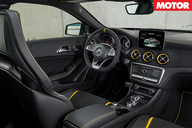 2017 Mercedes-AMG GLA45 interior