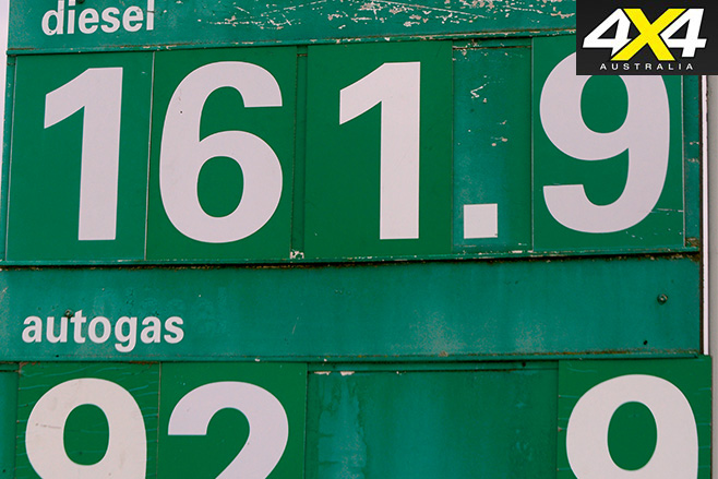 Diesel and LPG prices