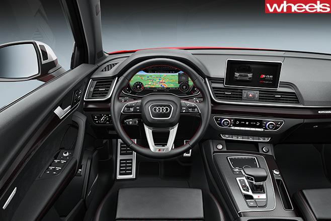 2017-Audi -SQ5-interior
