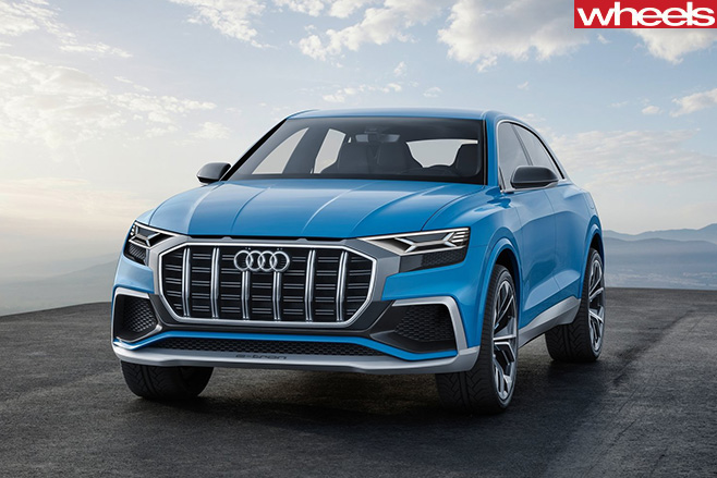 2017-Audi -Q8-Quattro -concept -front