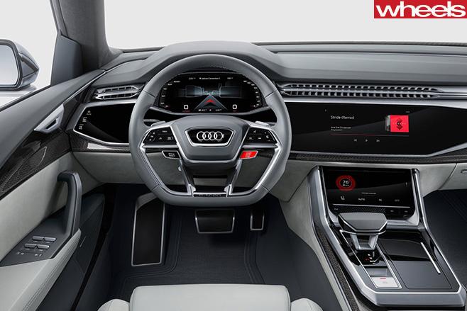 2017-Audi -Q8-Quattro -concept -interior