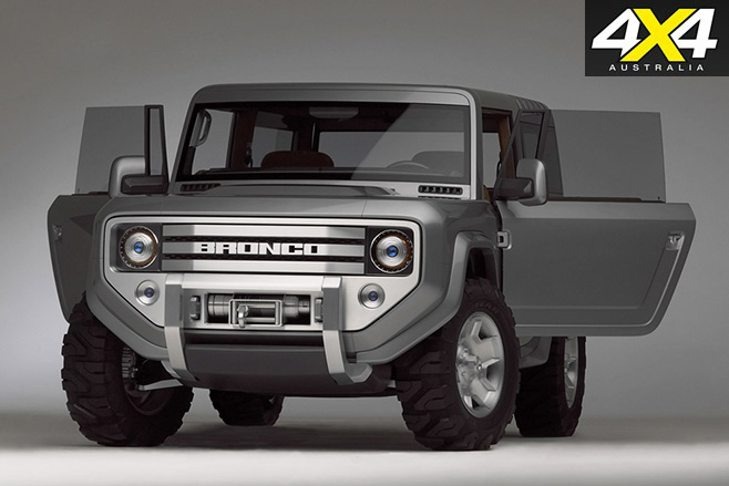 Ford Bronco 2004 concept -front