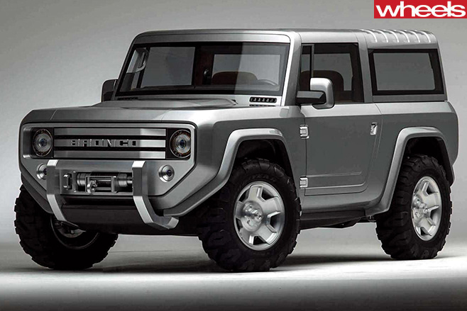 Ford -Bronco -concept -front -side