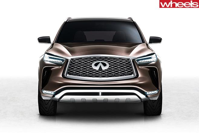 2017-Infiniti -QX50-Concept -front