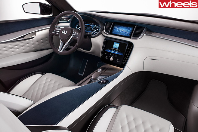 2017-Infiniti -QX50-Concept -interior