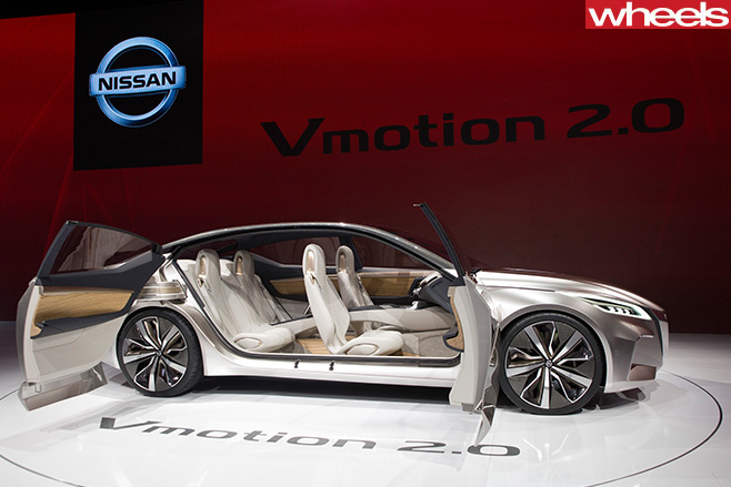Nissan -Vmotion -2-0-concept -sedan -Detroit -Motor -Show