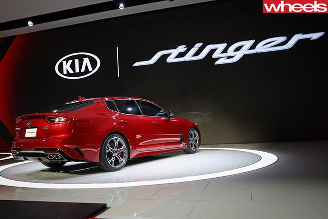 2017-Kia -Stinger -Detroit -Motor -Show