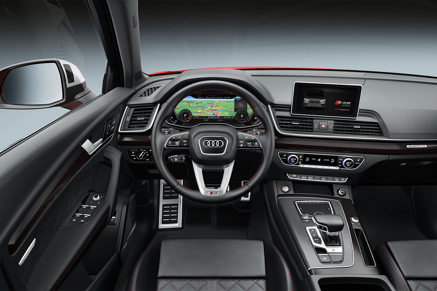 2017 Audi SQ5 interior