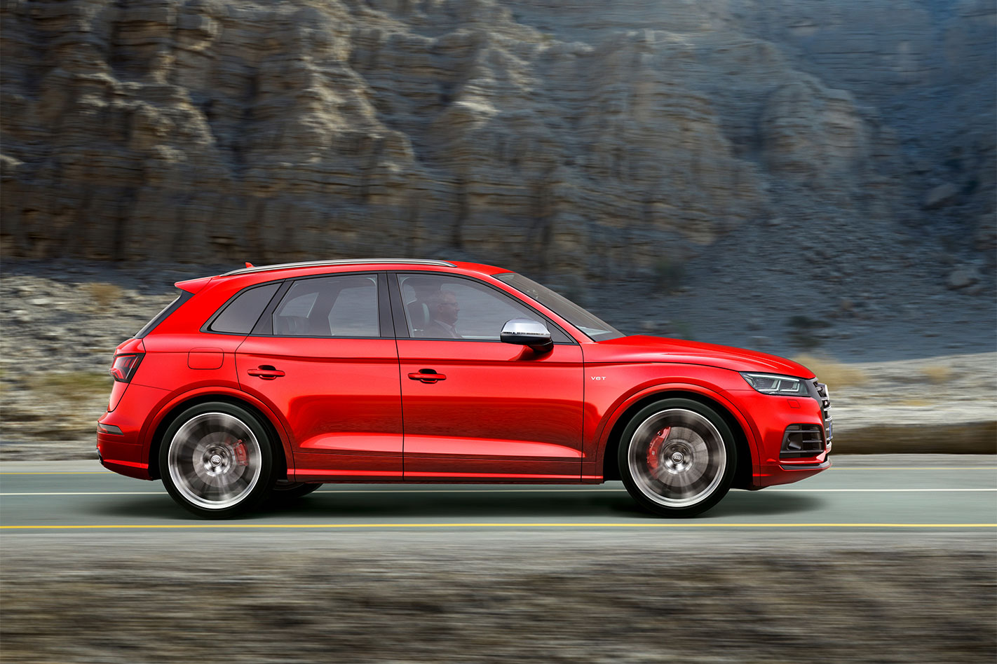 2017 Audi SQ5 profile