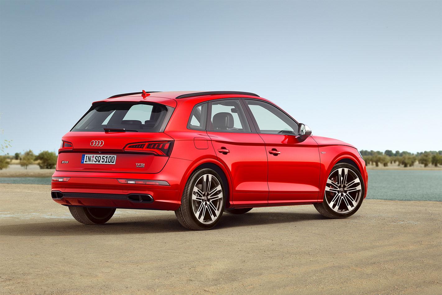 2017 Audi SQ5 rear