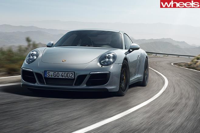 Porsche -911-Carerra -driving -front