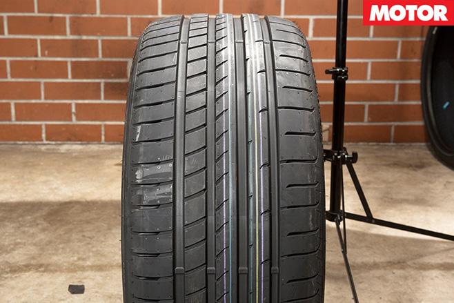 Goodyear eagle tyres
