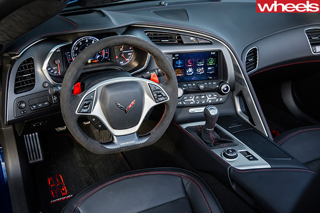 2017-Chevrolet -Corvette -C8-interior