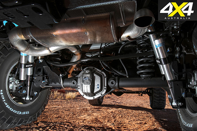 AEV suspension