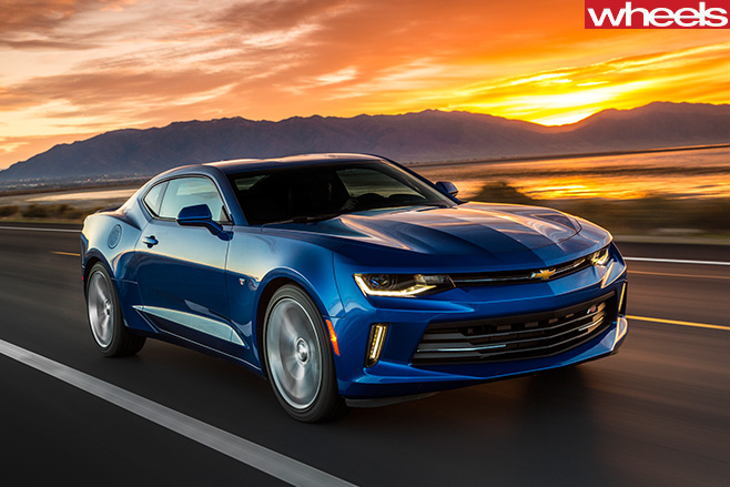 2017-Chevrolet -Camaro