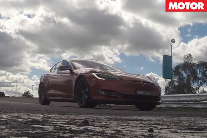 Tesla Model S P90D Acceleration Testing front