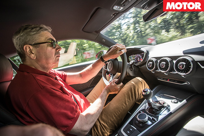 Driving -the -Audi