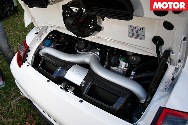 Porsche -GT2-engine