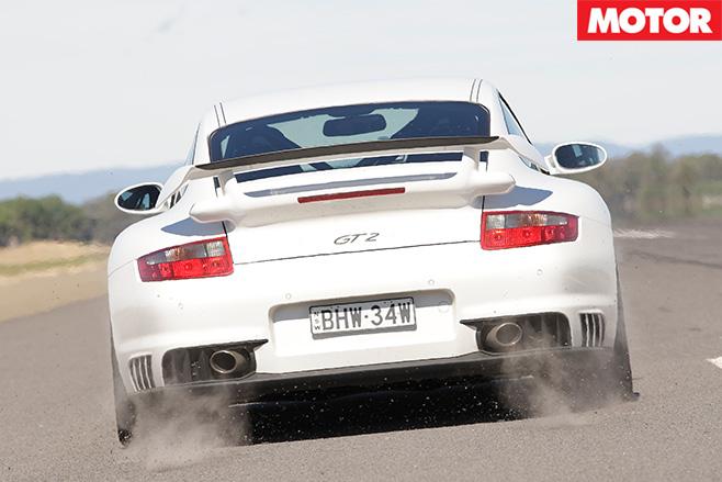 Porsche -GT2-standstill