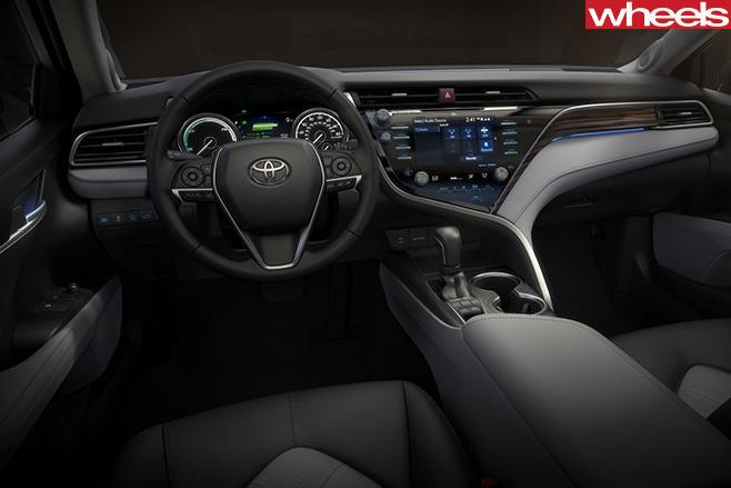 2018-Toyota -Camry -interior