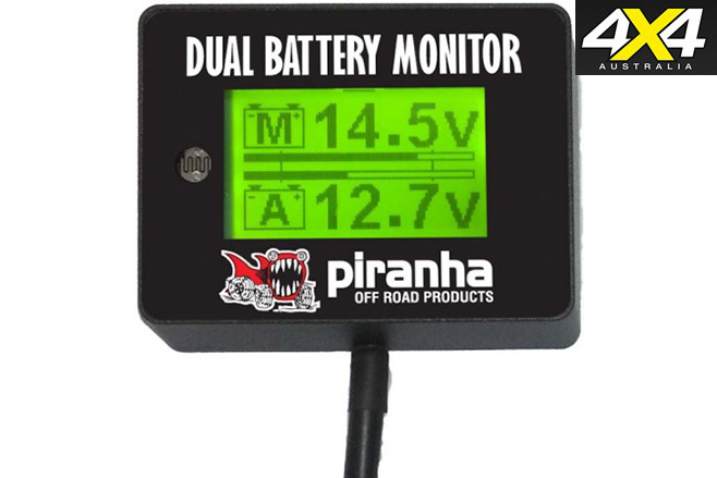 Dual-battery monitor