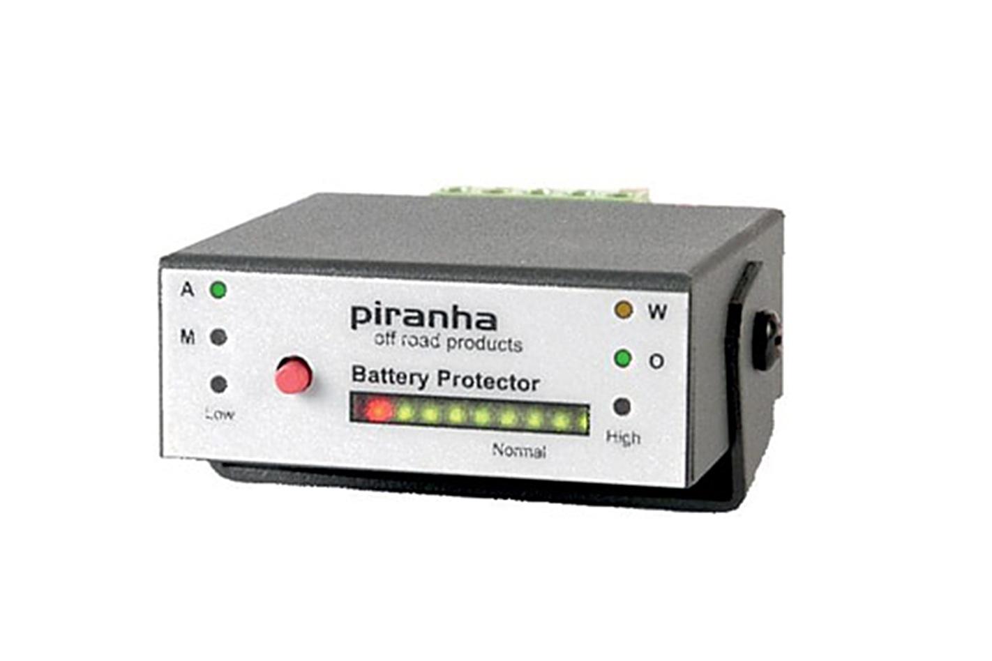 Piranha battery monitor