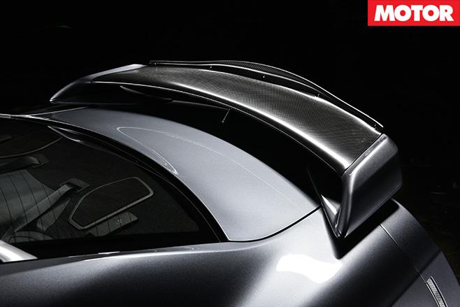 Litchfield LM20 Nissan GT-R spoiler