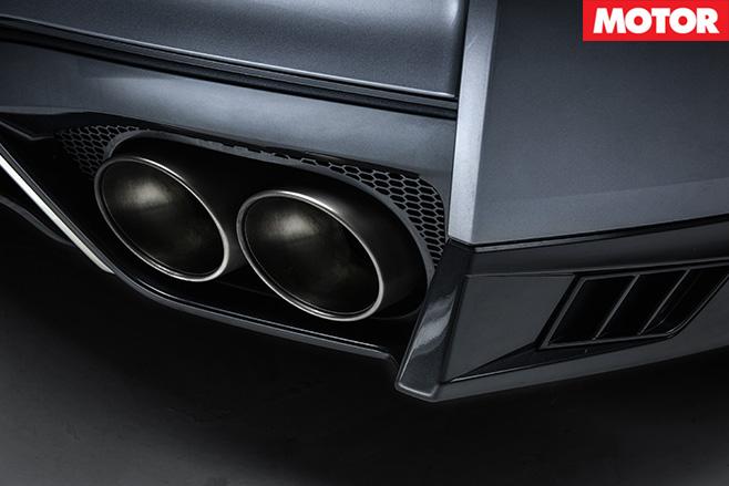 Litchfield LM20 Nissan GT-R exhaust