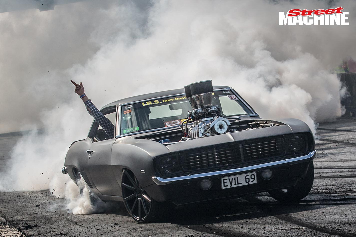 Chey Camaro Blown Burnout EVIL69