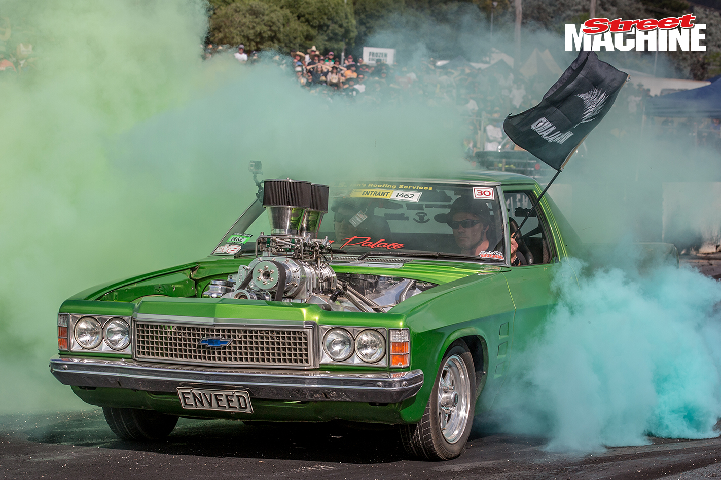 HZ Holden Ute ENVEED Burnout