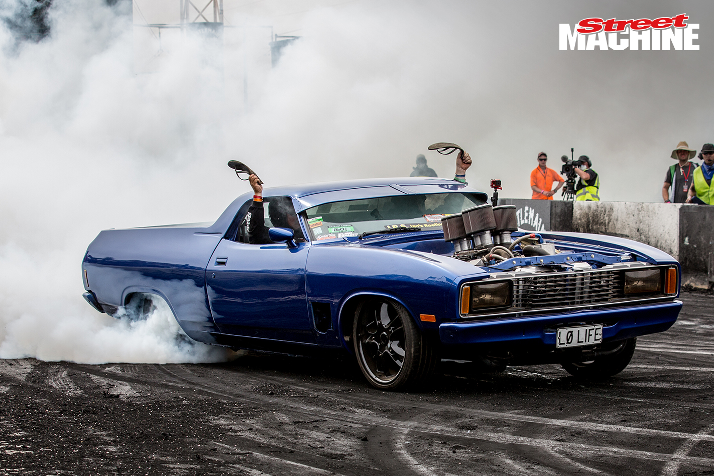 XC Falcon Ute Chopped Burnout