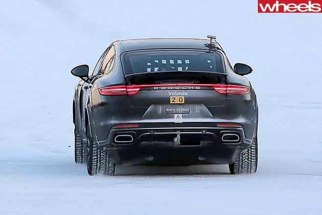 2019-Porsche -Mission -E-rear